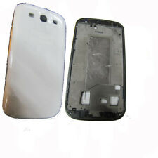 Fascia Housing Back Battery Cover For Samsung Galaxy S3 III i9300 White UK