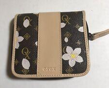 XOXO Women's Dark brown-Cream Floral Wallet
