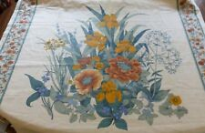 """Multi-Color Drapery FABRIC Large Floral Bouquet 45"""" wide By the Yard on every Yd"""