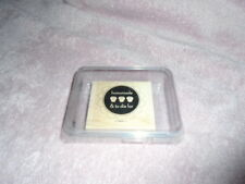 Stampin Up Homemade & to die for  Stamp  in Case New Mounted Cupcake