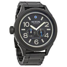 Nixon October Tide Brown Dial Mens Steel Watch A474-2209-00