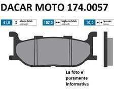 174.0057 PLAQUETTE DE FREIN ORIGINAL POLINI YAMAHA T MAX 500 Carburateur