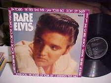RARE ELVIS 1980 RCA German PL89003 BLACK LABEL LP COVER 1983  VERY GOOD+