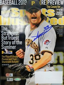 Jason Grilli Pittsburgh Pirates Signed Sports Illustrated MLB Authenticated