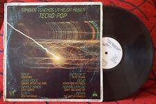 DEVO *Jerkin' Back 'N' Forth* HEAVEN 17 Simpe Minds O.M.D. HUMAN LEAGUE PROMO LP