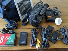 SONY CCD-TR805E PAL Handycam Hi 8 Video Camcorder - working and tested bundle