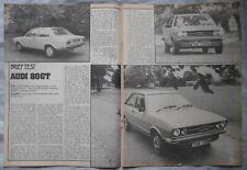 1974 Auto 80 GT Original Motor magazine Road test
