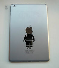 Funny iPad Mini Headless Brick Man Vinyl Decal Sticker Mac Macbook