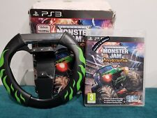 Monster Jam Path of Destruction With Wheel PS3 With Box Free Post Christmas