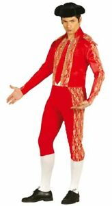 Adult Bullfighter Costume Mens Matador Spanish Mexican Fancy Dress Outfit
