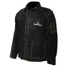 Caiman Black Boarhide 30 Welding Jacket Small 3xl