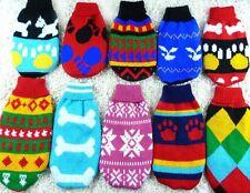 Dog Clothes Pet Winter Woolen Sweater Knitwear Appreal Puppy Warm Coat #24