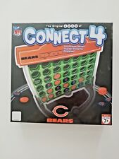 Connect 4 Chicago Bears Edition.by Hasbro c2008 Rare! Free Shipping!