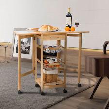 Küchenwagen in Material:Holz, Farbe:Wei  | eBay