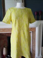 Warehouse citrus yellow dress