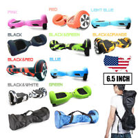 "Hoverboard Scooter Cover For 6.5"" 2 Wheels Silicone Rubber Protective Skin Case"