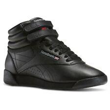 68eb48a64ba Reebok Women s Freestyle Hi Walking Shoe Black 8 M US