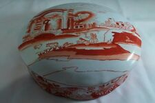 Antique Chinese Porcelain Covered Dish
