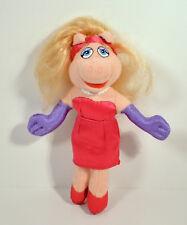 "RARE 2002 Ms Miss Piggy 6"" McDonald's Europe Plush Action Figure The Muppets"