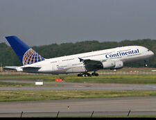 CONTINENTAL AIRLINES Airbus A340 6x4 PRINT