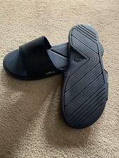 Men's Lacoste slides sliders size 11 Navy blue