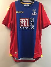 666793712 Crystal Palace FC 2016 17 Home Shirt Players Fit Large TD086 BB 11