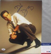 VERY COOL!! David Duchovny Signed X-FILES 11x14 Photo #2 PSA/DNA Fox Mulder
