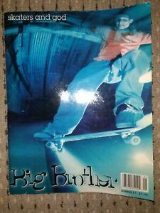 Vintage Skateboarding Big Brother skateboard magazine issue #17 1995