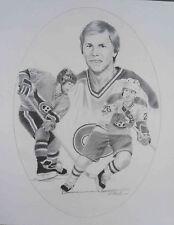 """1986-87 Kraft Montreal Canadiens' Mats Naslund 16""""x20"""" Poster"""