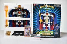 MMPR Power Rangers Zeo Deluxe Auric The Conqueror Zord