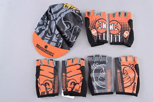 LOT of Stage One/Forte 3 Pairs of 2XL Fingerless Gloves and Cycling Cap