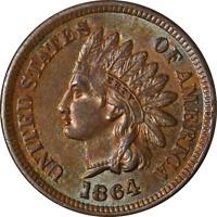 1864-'L' Indian Cent Re-Cut Date Nice BU+ Key Date Great Eye Appeal Nice Strike