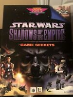 Star Wars Shadows Of The Empire- Game Secrets Strategy Guide Book N64