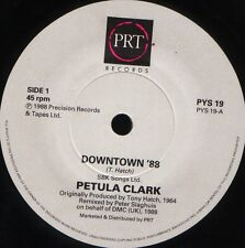 "PETULA CLARK downtown '88/downtown original version PYS 19 uk prt 1988 7"" WS EX/"