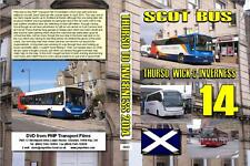2843. Thurso, Wick & Inverness. UK. Scotland. Buses. April 2014. The major towns