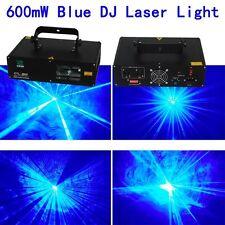 NEW 600mW 450nm/445nm Blue home pub dj Laser Stage Lighting show equipment