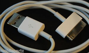 Genuine Apple iPod Classic Mini Nano Shuffle Touch USB Data Sync Charge Cable