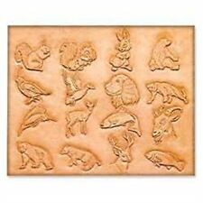 """Craftaid Plastic Animal Template 3/4"""" 75001-00 by Tandy Leather"""