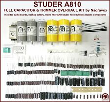 Studer A810 tape recorder FULL electronic service upgrade overhaul kit