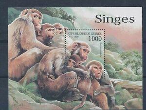 D109229 D207080 Monkeys S/S MNH Guinea Republic