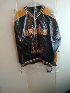 Boston Bruins Black Pullover Jacket