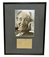 Vladimir Horowitz 1945 Autograph Classical Pianist Composer Framed Signed Photo
