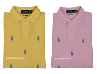 Polo Ralph Lauren Classic Fit Allover Pony Logo Mesh Shirt New
