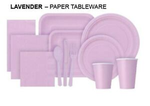 DISPOSABLE ROUND PAPER CUPS PLATES NAPKINS PARTY TABLEWARE CATERING  ALL EVENTS