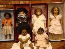 Six (6) Beautiful Annette Himstedt Dolls (Sold as Group) Free Shipping