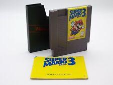 Super Mario Bros. 3   NES   Nintendo   Mit Anleitung   PAL   TOP Zustand