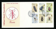 FALKLAND Is DEPENDENCIES 1982 INSECTS FDC ANTARCTICA SOUTH GEORGIA...VFU
