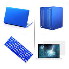 Rubberized Hard Case+Keyboard Cover+LCD Film For Apple MacBook Pro/Retina 13.3""