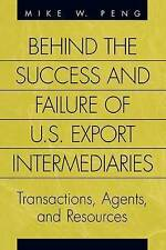 Behind the Success and Failure of U.S. Export Intermediaries : Transactions, Age