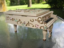 Reuge Piano Music Box Menuet Beethoven Overwound